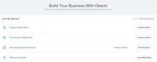 dropshipping with Oberlo