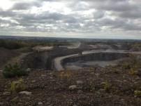 Utsikten från ett gruvarbete (?!)