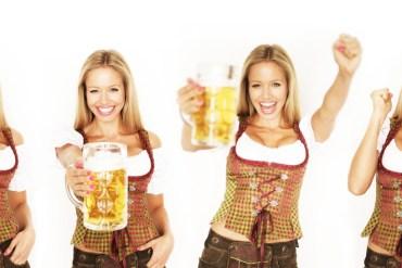 Waitress at the Oktoberfest