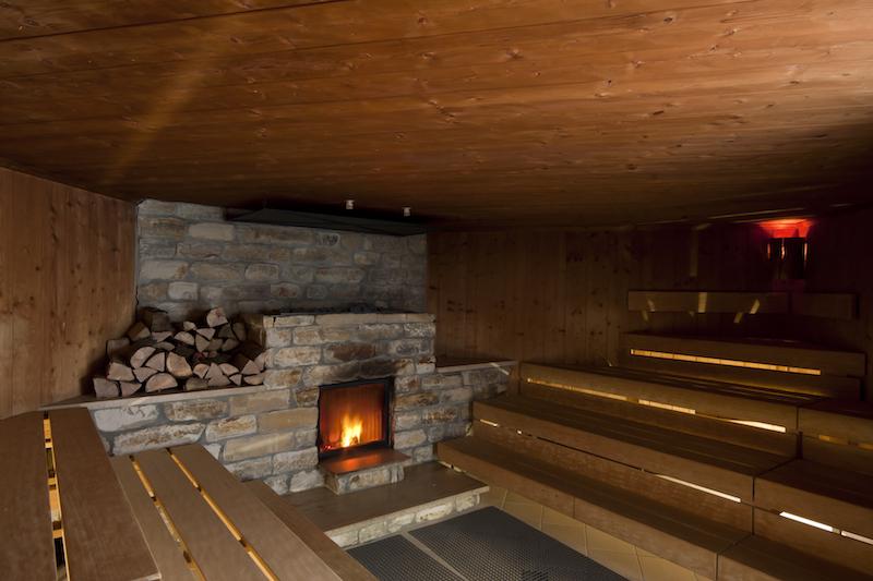 Indoor - Fire sauna  in Germany