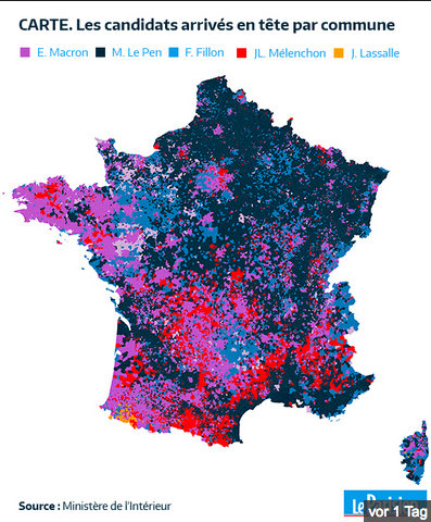 French Election: regional results