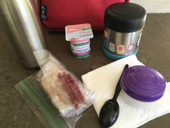 Preparing Lunchbox in America