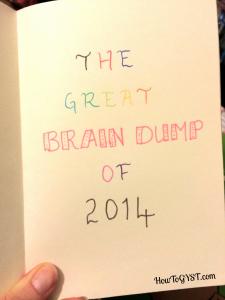 Brain Dump. 2014. Frixion erasable markers.