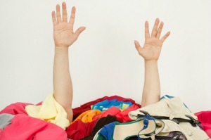 Clothes mountain