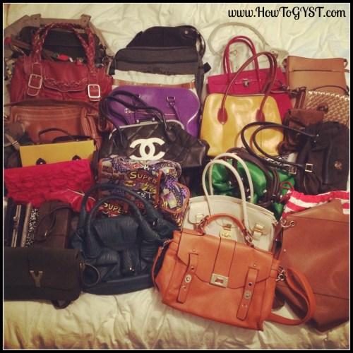 KonMari -- Clothes. Decluttering. Bags.