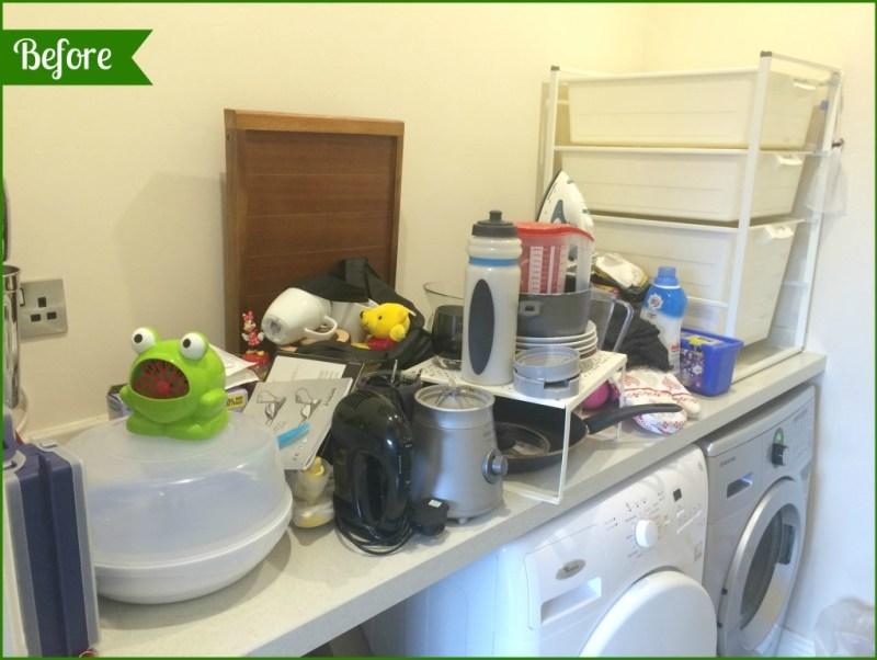 KonMari. Laundry room.