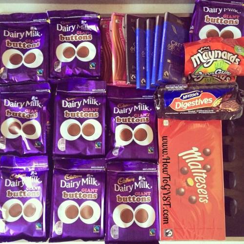 KonMari. Kitchen. Chocolate.