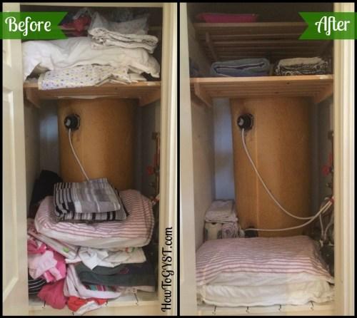 KonMari. Linen Closet