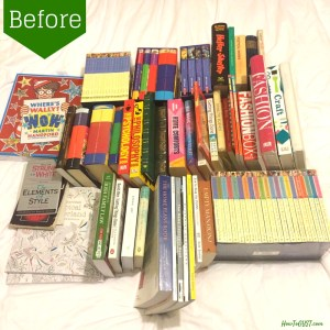 The KonMari Method -- Books. Before and after pics, from a bookworm. ;)