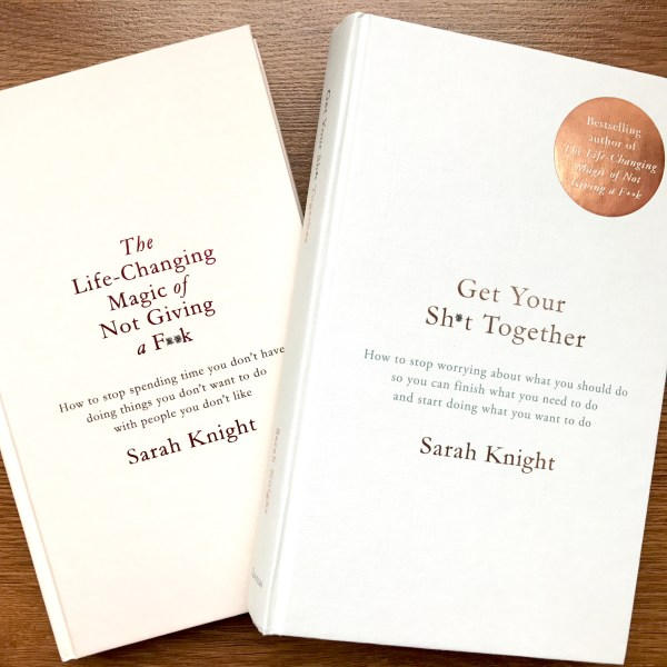 """Review of """"Get Your Sh*t Together"""" by Sarah Knight 