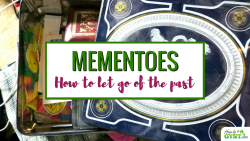 How to declutter sentimental items & finally let go of the past | KonMari Method | Mementoes