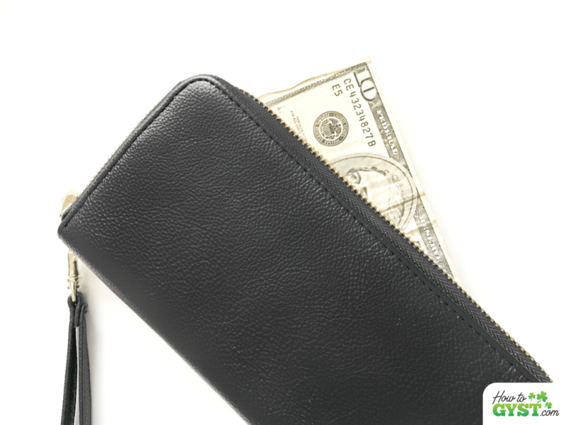 11 MORE Ways To Save Money – pool resources   cash in wallet