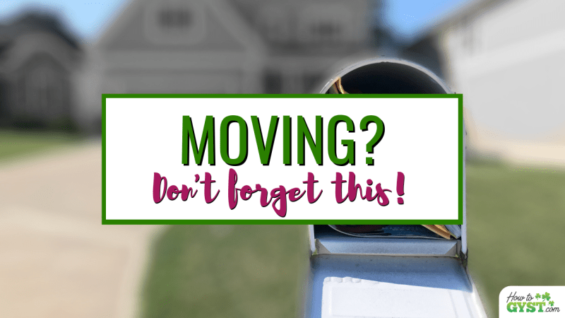 Here's where you need to change your address if you're moving so you don't lose mail| Moving house | Moving tips