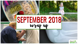 September 2018 wrap up post from HowToGYST.com