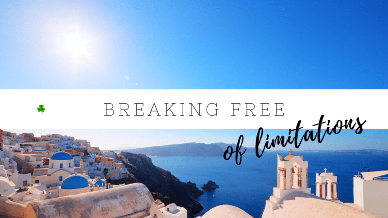 How to get our of your comfort zone & break free of limitations
