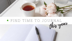 How to start a journal when you're short on time
