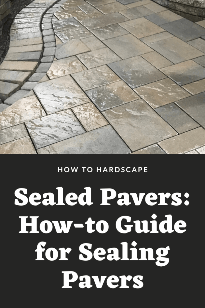 sealed pavers how to guide for sealing