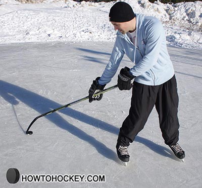how to deke in hockey