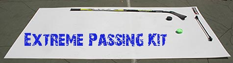 extreme passing kit - hockey skillpad