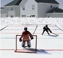 back yard rink