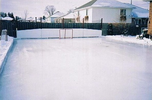 How To Make An Ice Skating Rink In Your Backyard how to build a backyard hockey rink