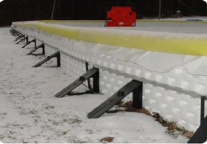 How To Build A Backyard Hockey Rink - Ice rink in backyard