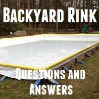 Top 10 (okay 15) Questions and Answers when building a backyard rink