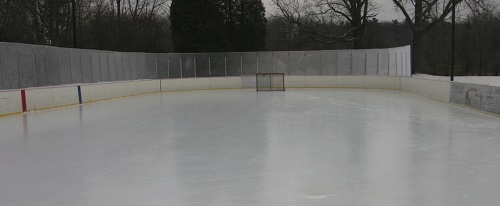 Thick Ice Backyard Rink