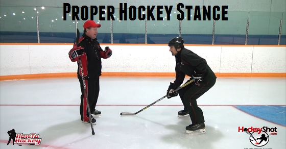 Proper Hockey Stance: The Importance of Knee Bend