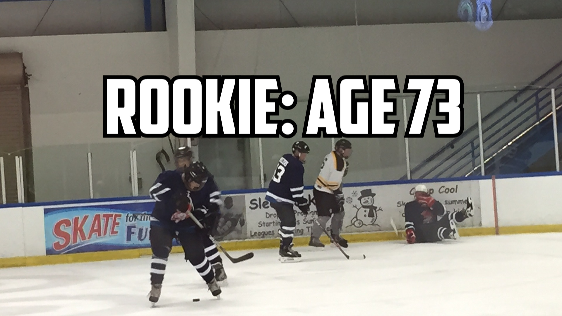 The 73 Year Old Hockey Rookie