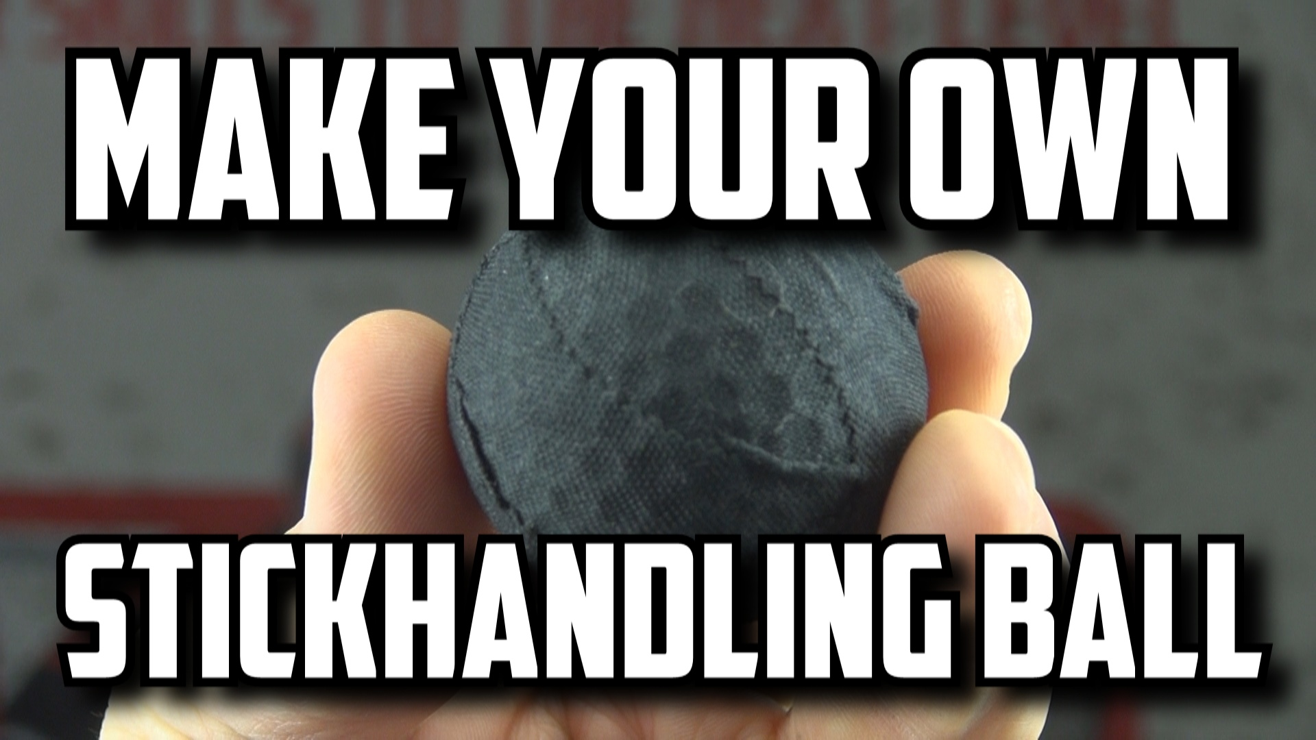 How To Make Your Own Stickhandling Balls