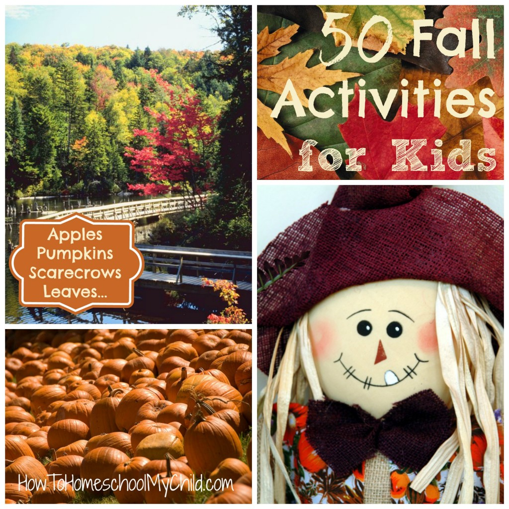 50 Fall Activities For Kids