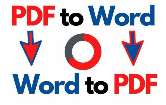 How to Convert PDF Files to Word & Word Files to PDF