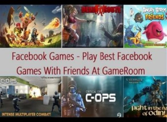 Facebook Games - Play Best Facebook Games With Friends At GameRoom