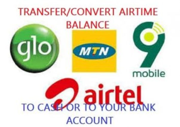 List Of Websites To Transfer Airtime to Bank Account - Convert Airtime to Cash