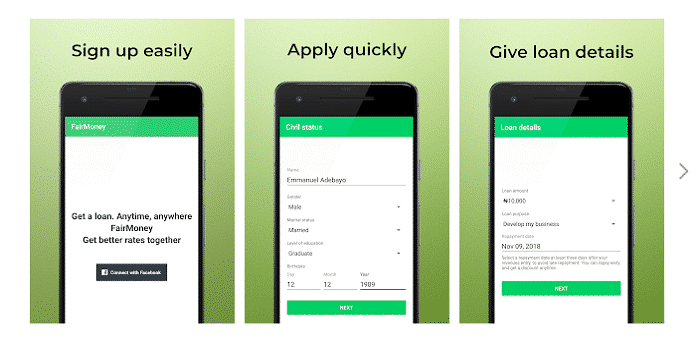 Fairmoney Loan App, Quick Loan Apps in Nigeria
