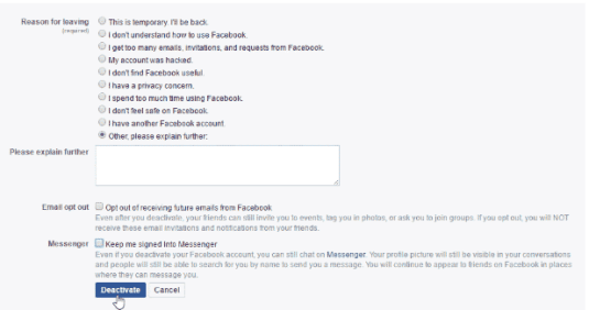How To Delete My Facebook Account Forever & Permanently