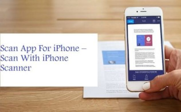 Scan App For iPhone –  Scan With iPhone Scanner