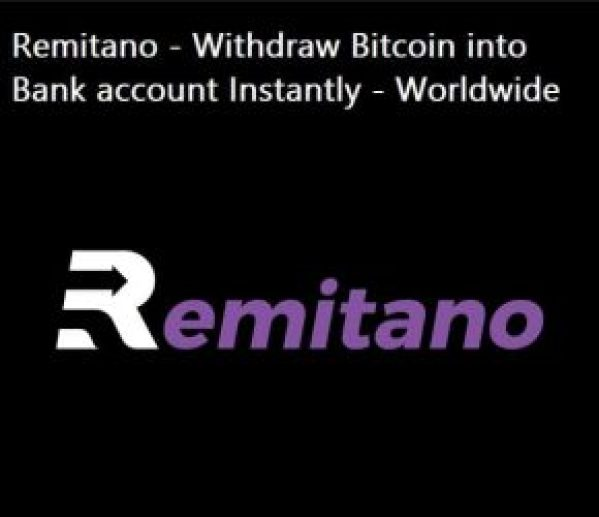 Remitano - Withdraw Bitcoin into Bank account Instantly - Worldwide