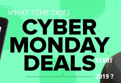 What Time Does Cyber Monday Start 2019