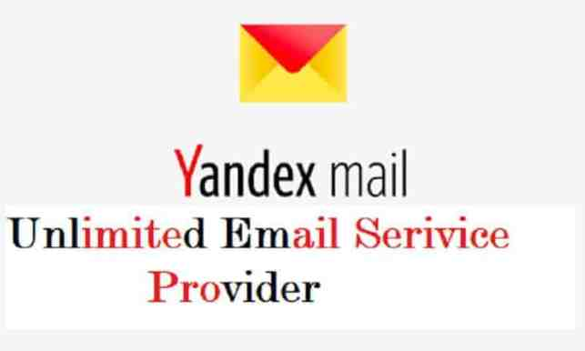 Yandex Russian Unlimited Storage Email- Email Service Provider Here