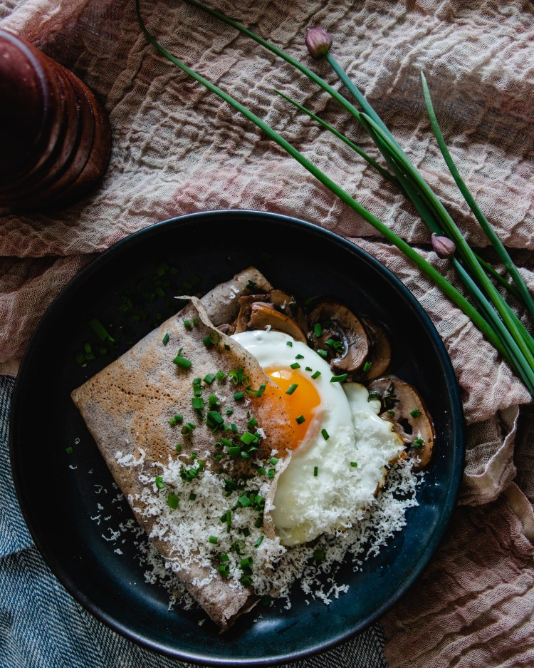 Savoury Buckwheat Crepes How To Make Dinner