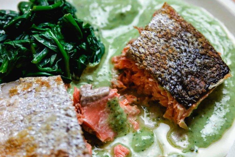 Perfect Crispy Skin Salmon