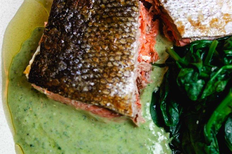 Perfect Crispy Skin Salmon in 7 Minutes