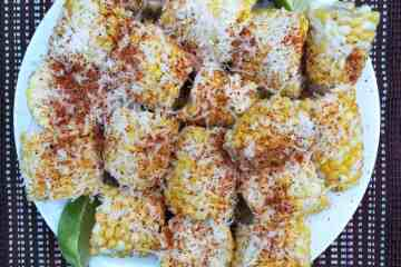 Easy Elotes On A Plate