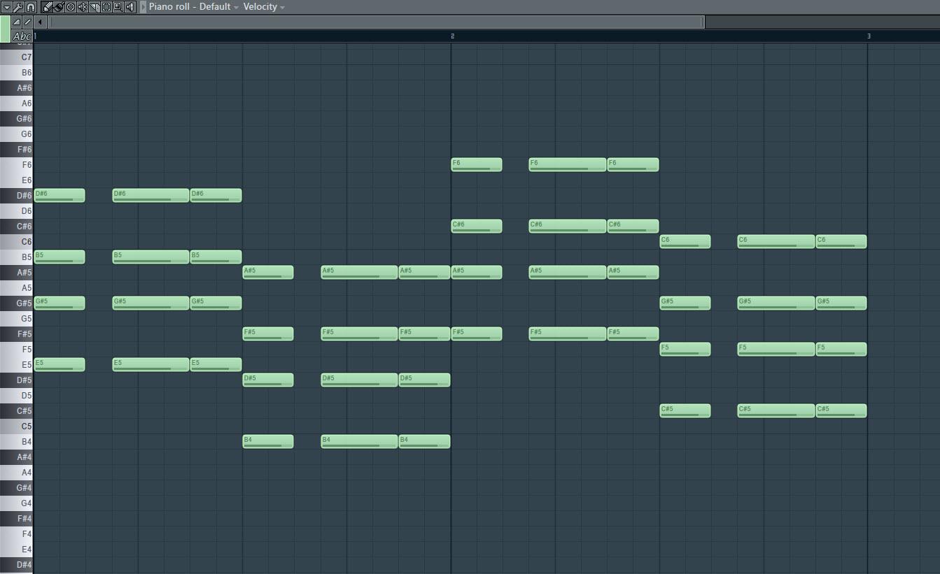 Music Notes Guitar Chord