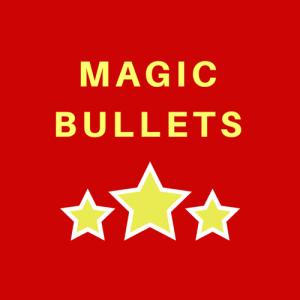 Magic bullets logo for reed making