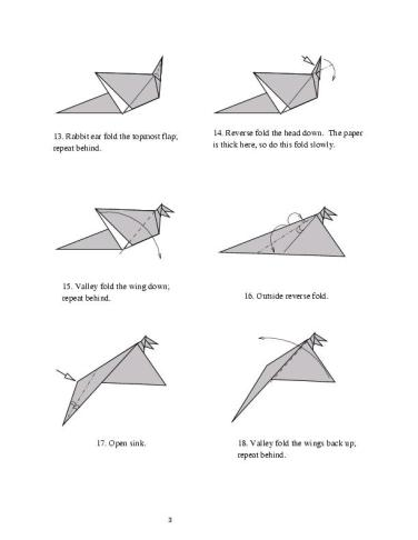 How To Make An Origami Dragon : origami, dragon, Origami, Dragon, Howto, Techno