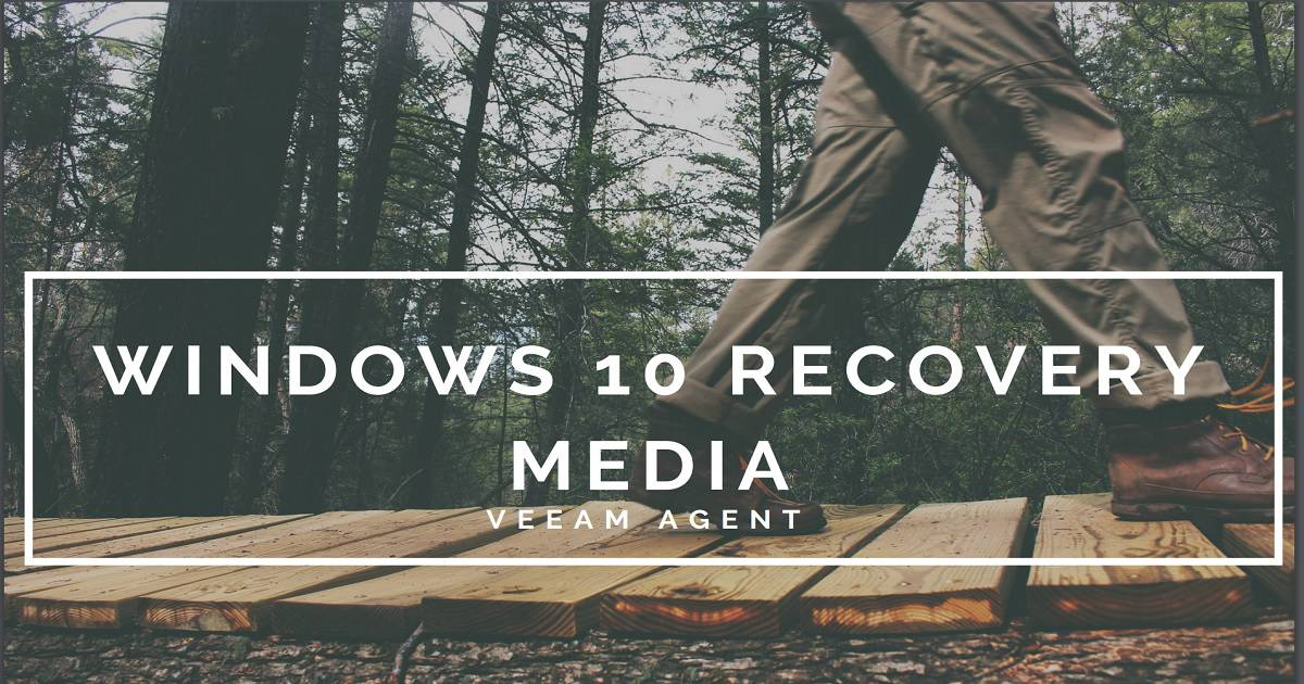 Tool to Create Windows 10 1809 Recovery Media