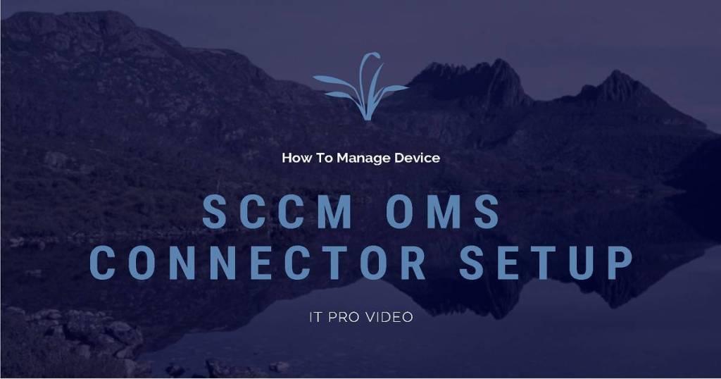SCCM Azure Log Analytics